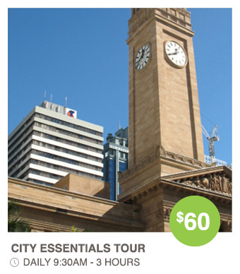 City Essentials Day Tour -  Walk Brisbane Guided walking tours
