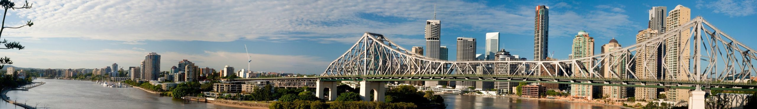 Story Bridge on sunny Brisbane Winter Day