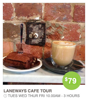 Coffee on Laneways and Cafes tour