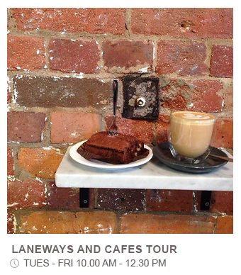 Laneways and Cafes Tour